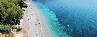 Visit Croatia and book cheap apartment or room situated by the beach | Adriatic.hr