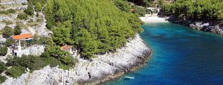 Turismo alla robinson in Croazia