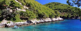 Obiekty typu Robinson Kwatery prywatne Chorwacja