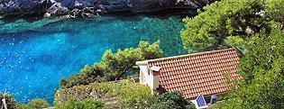 Robinzonské objekty Súkromné ubytovanie Chorvátsko