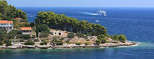 Robinson Crusoe Style  Private accommodation Croatia