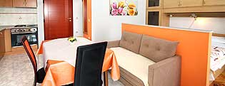 Studio Prive accommodatie Kroatie